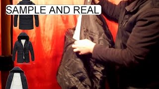 UNBOXING CHINESE WINTER JACKET 2015