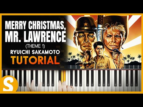 how to play merry christmas mr lawrence theme 1 part 2 by ryuichi sakamoto piano tutorial hd - Merry Christmas Mr Lawrence Piano