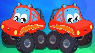 Wir sind der Monster Truck | Lied für Kinder | Auto Reime | Preschool Song | We Are Monster Truck
