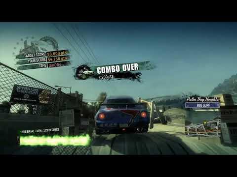 Burnout Paradise (Xbox 360) - Japanese Demo Version Showcase