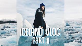 Iceland Vlog: Part Two   Waterfalls, Black Sand Beach, Glaciers