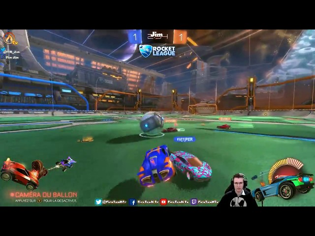 Rocket League en mode #Ranked - Jim