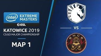 CS:GO - Liquid vs. ENCE [Mirage] Map1 - Quarterfinals - Champions Stage - IEM Katowice 2019