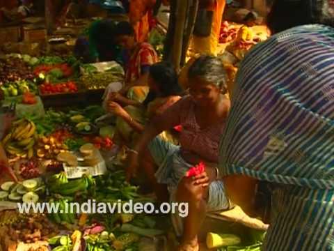 Brisk sales at Pulluvila vegetable market