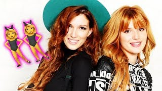 Bella Thorne's sister Dani is her rainbow-haired twin