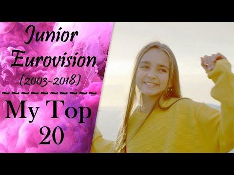 JUNIOR EUROVISION | MY TOP 20 ENTRIES | 2003-2018