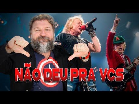 AC/DC E GUNS N' ROSES NUNCA CHEGARAM LÁ...