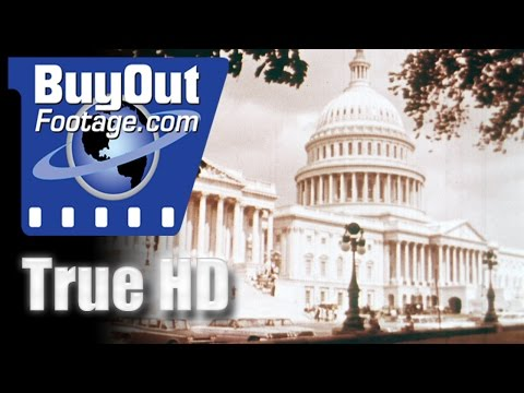 HD Stock Footage 1960's Washington D.C.