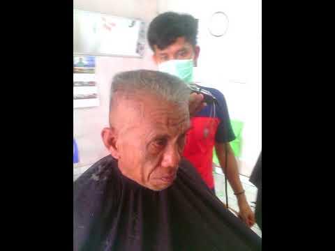 teknik potong rambut cepak kotak - YouTube da4357db1e