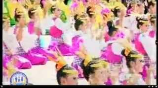 Tari Kolosal Hari Keluarga Nasional 2013 di Kendari, Sulawesi Tenggara