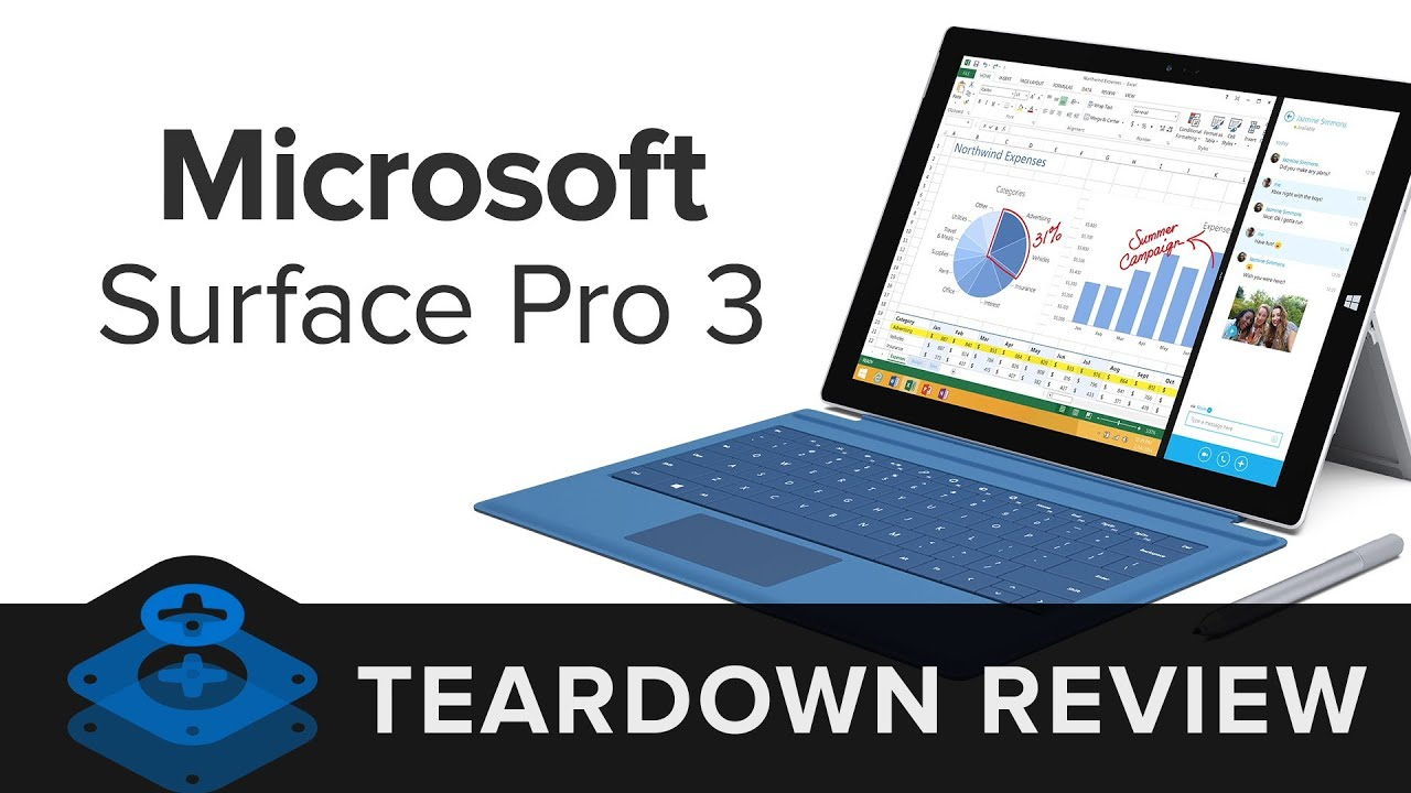 Microsoft Surface Pro 3 Teardown - iFixit