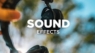 Sound Effects for Transitions (Flyby, Suckback, Whoosh Sound FX)