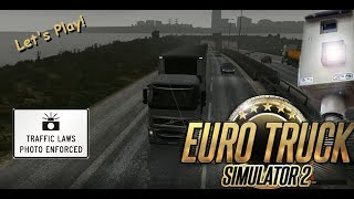 Euro Truck Simulator, ETS 2 Watch out for that speed camera! S01E04