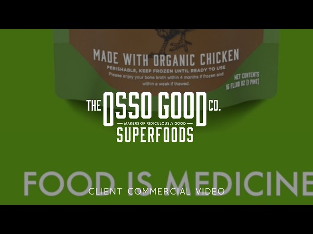 Osso Good Commercial Video - Made by Envy Creative