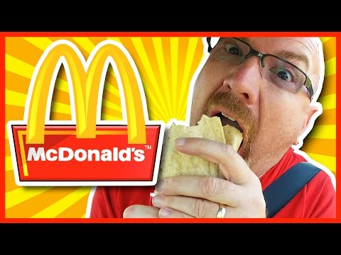 McDonald's Asian Crispy Shrimp Signature McWrap Review
