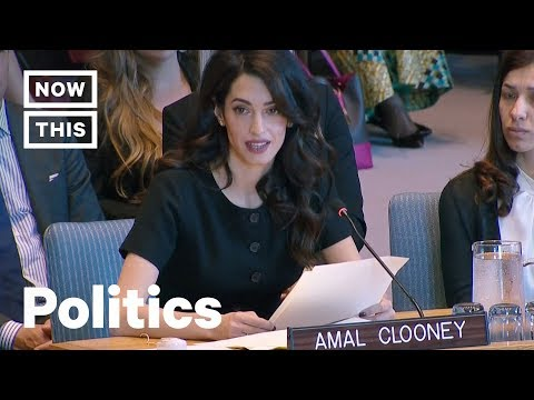Amal Clooney Calls Out Trump Administration at the UN | NowThis