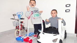 مريومة تشتري سيارة جديدة marioma buy anew car toys!!
