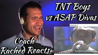 Vocal Coach Reaction - TNT Boys vs ASAP Divas