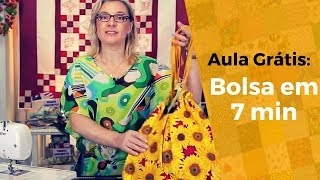 Bolsa Dupla Face – Tutorial Patchwork
