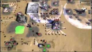 Supreme Commander. A high quality ranked game. 1080p