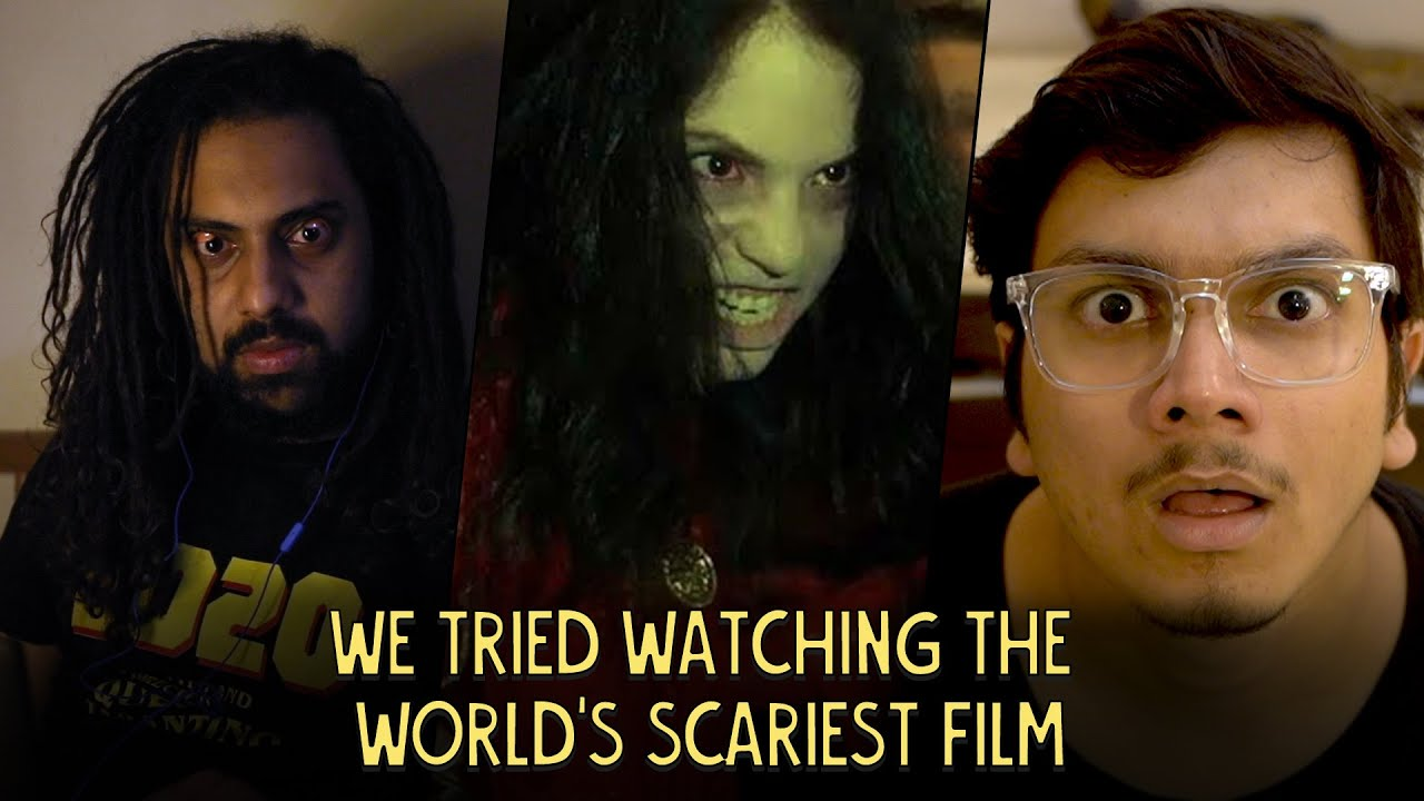 Download Watching The Scariest Horror Movie In The World   Ok Tested