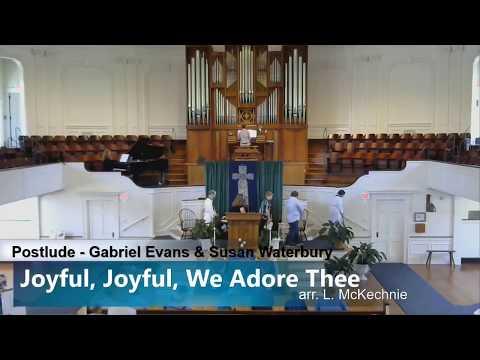 Joyful, Joyful, We Adore Thee - Susan Waterbury & Gabriel Evans