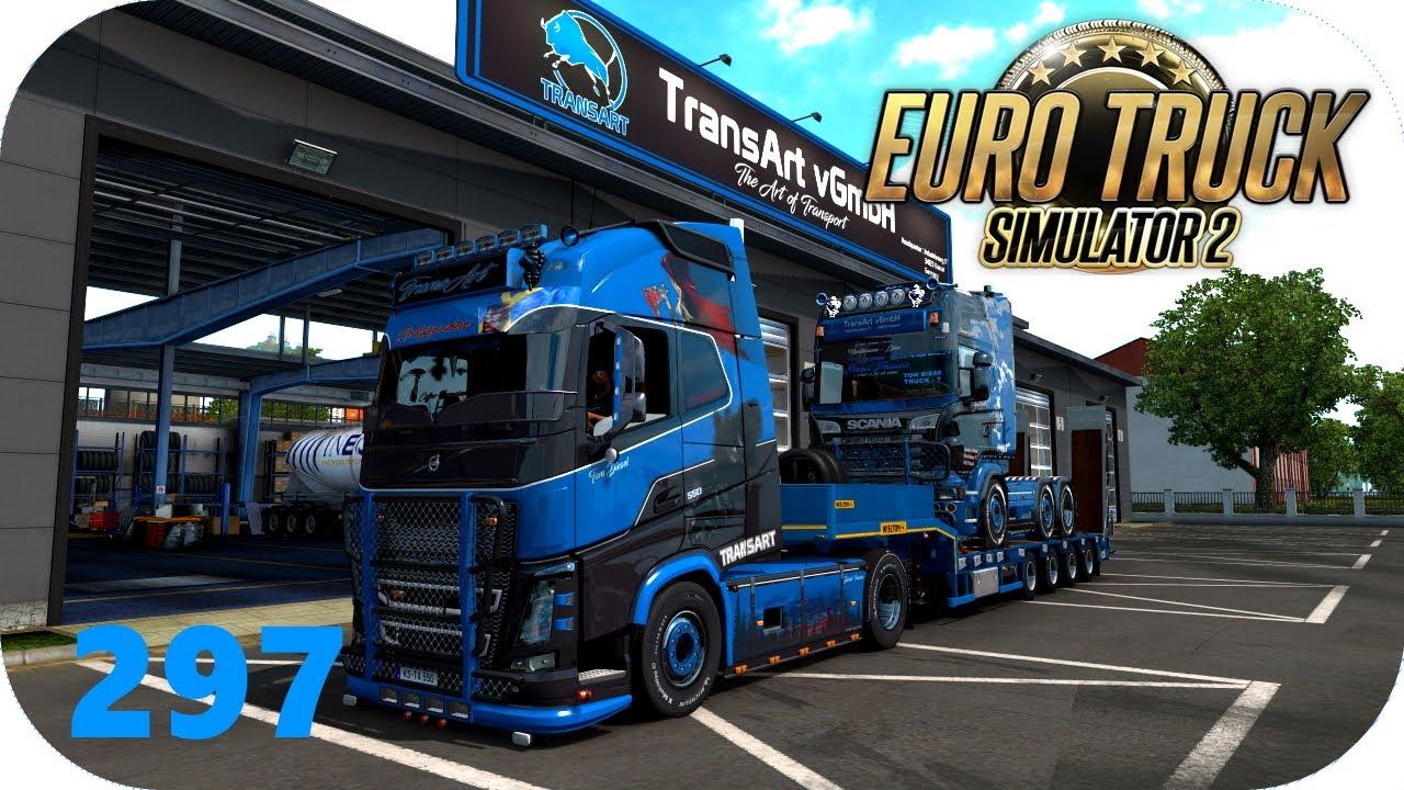 ETS2 | 297 | TransArt: Ernsthaft nach Kassel | Volvo FH16 550 | Promods 2.50