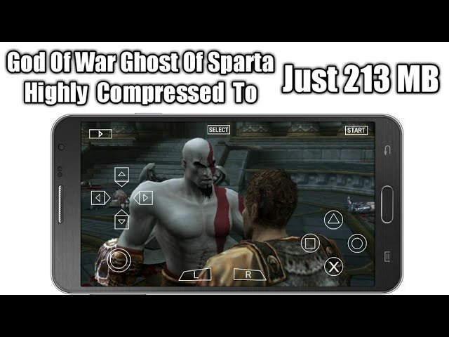 PSP] God Of War Ghost Of Sparta Highly Compressed [PPSSPP] 213MB