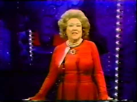 Ethel Merman,  Nothing Can Stop Me Now, 1976 TV Performance