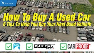 How To Buy A Used Car - 6 Dealer Tips
