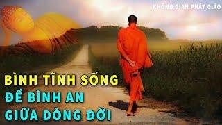 """Đêm nằm Nghe Lời Phật Dạy """"HÃY BÌNH TĨNH SỐNG""""- Để Bình An Giữa Dòng Đời Vạn Biến #Mới"""