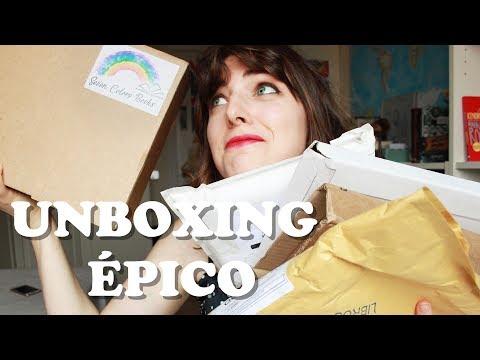 UNBOXING ÉPICO | Libros más esperados + Mi primera caja de suscripción literaria Seven Colors Books