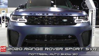 2020 Range Rover Sport SVR - Exterior And Interior - Montreal Auto Show 2020