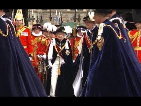 Royal Family attend Order of the Garter service