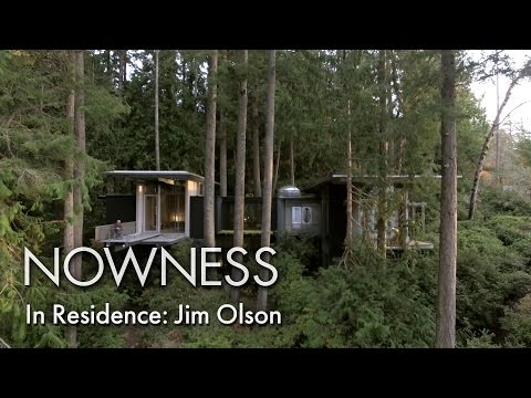 In Residence: Jim Olson - inside the architect's treetop house