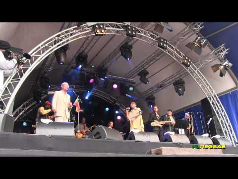 """KEN BOOTHE """"The Train Is Coming"""" Amsterdam Outdoor Reggae Festival 2011"""