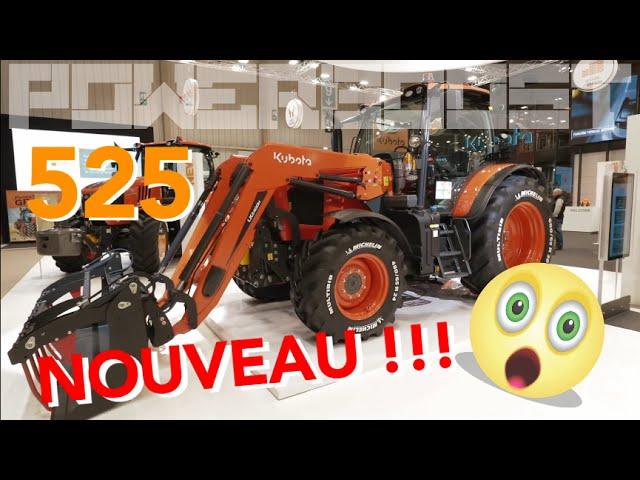 Trois nouveaux tracteurs dans la flotte Kubota !