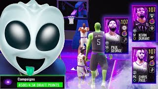 ALIEN FROM AREA 51 COMPLETING SPACEBALL CAMPAIGN! NBA Live Mobile 19 Season 3 Ep. 129
