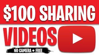 Make $100 PER HOUR SHARING YOUTUBE VIDEOS [Make Money Online]