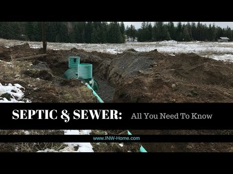 Septic and Sewer FAQs