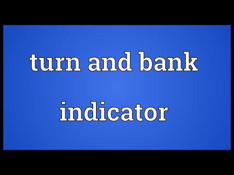 Turn and bank indicator Meaning