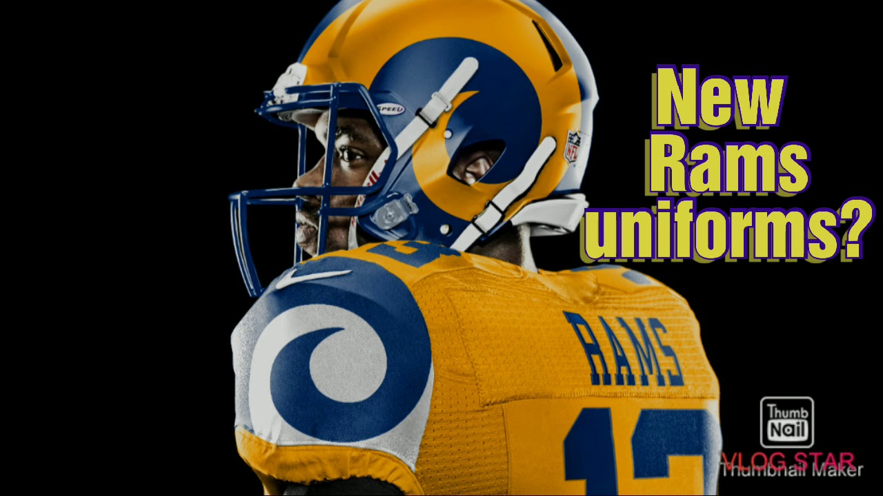 could this be rams new uniforms youtube could this be rams new uniforms