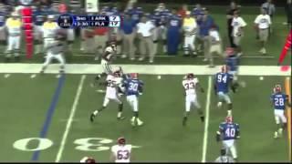 2006 SEC Championship Game: #4 Florida Gators vs. #8 Arkansas Razorbacks