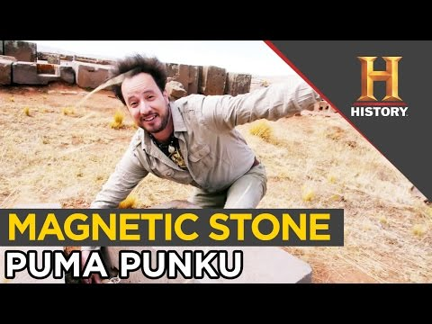 Magnetic Mystery in Puma Punku Stone   In Search of Aliens