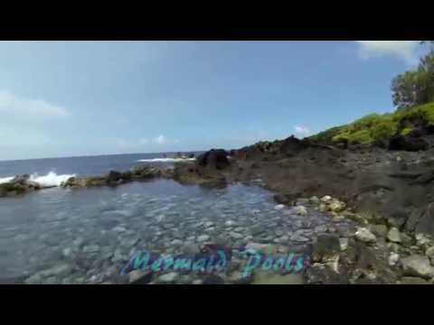 Mermaid Pools and GoPro in Puna Hawaii
