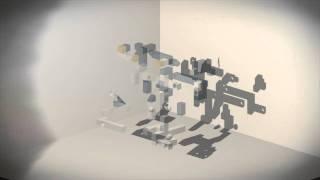 echochrome ii - Penguin Shadow Art (Level F-7)