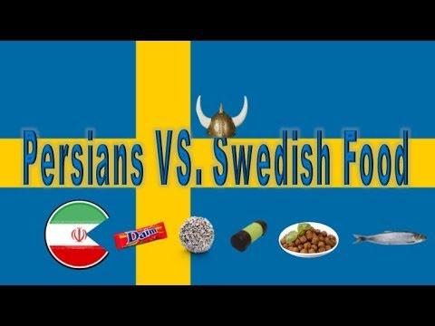 Persians Try Swedish Food