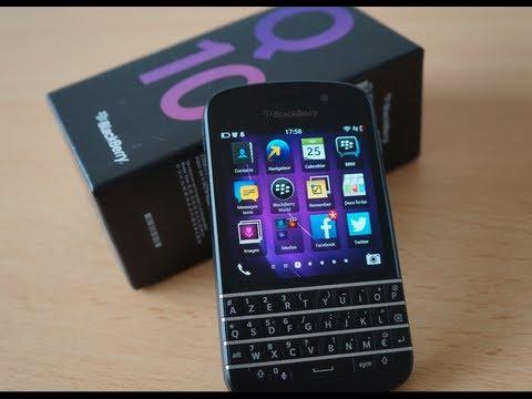 Test du BlackBerry Q10