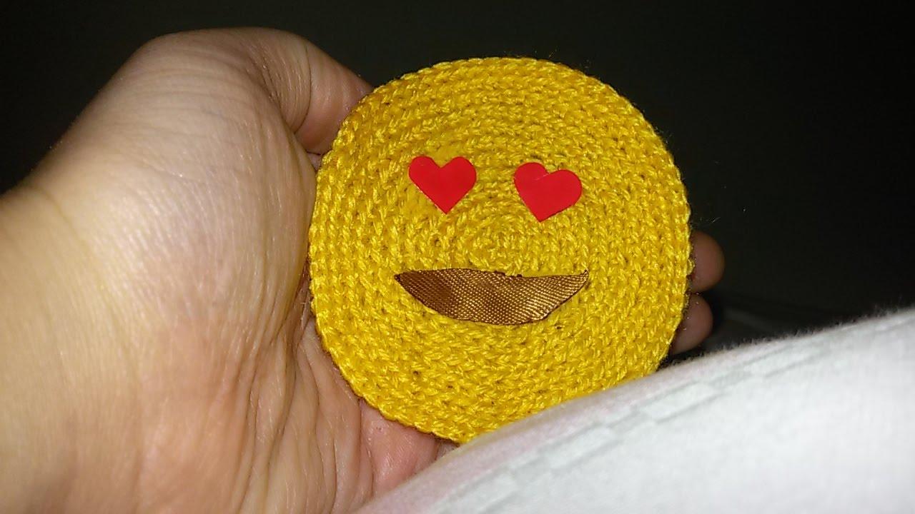 Crocheting Emoji : Emoji ?rg? / Emoji h?keln / Emoji crochet --- ABONE OL - YouTube