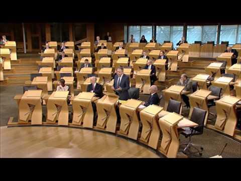 Afternoon Plenary - Scottish Parliament: 10th December 2015
